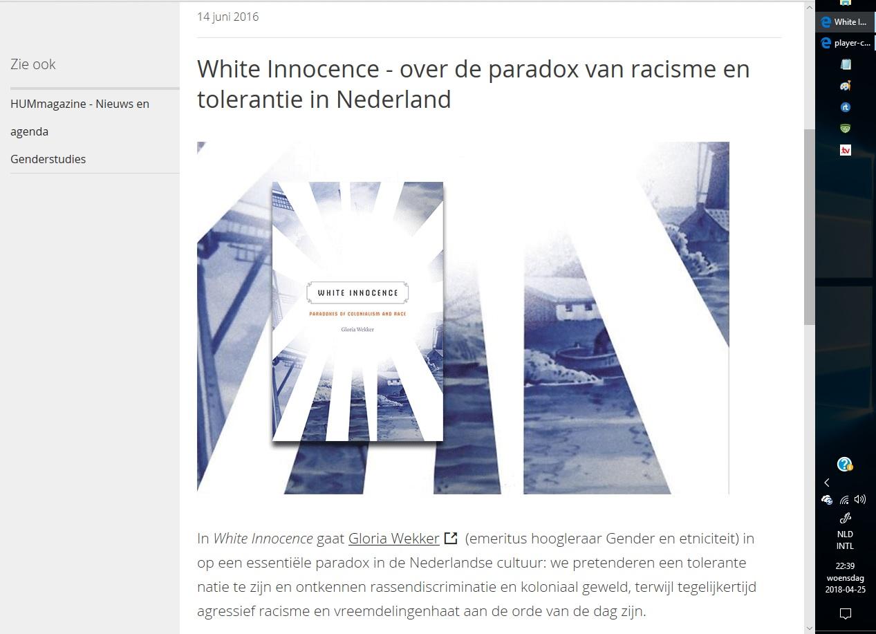 Gloria Wekker 2016 White Innoncence1