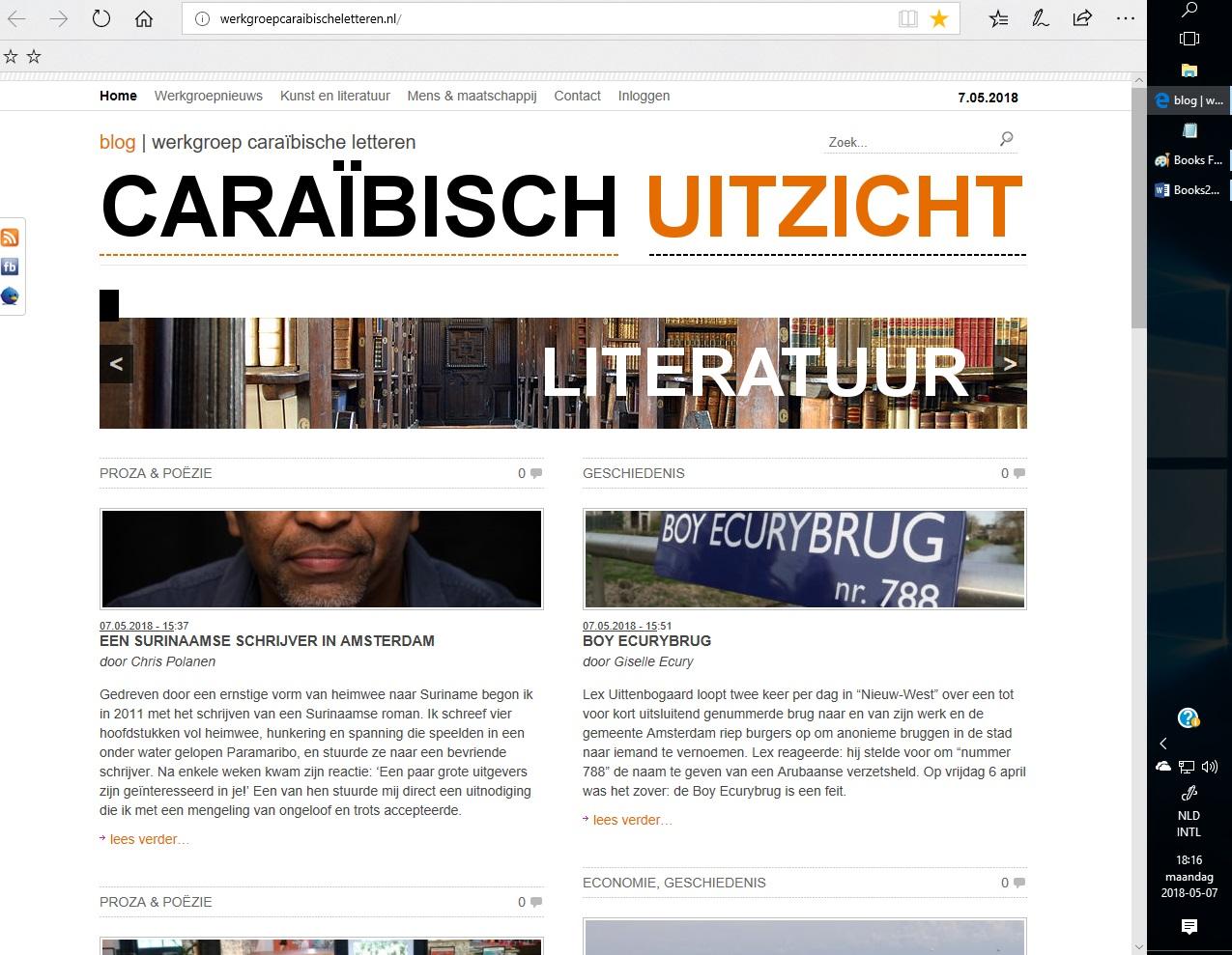 Books Werkgr Caraibische Letteren